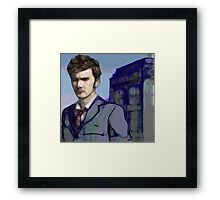Doctor Who - Tenth Doctor Fan Art Framed Print