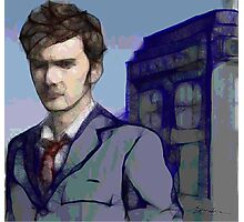 Doctor Who - Tenth Doctor Fan Art Photographic Print