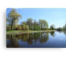 Scenic spring landscape  Canvas Print