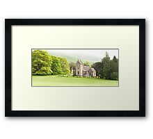 Ilam Hall, Staffordshire Framed Print