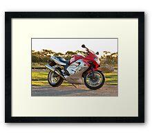 Triumph TT600 Framed Print