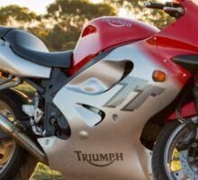 Triumph TT600 Sticker