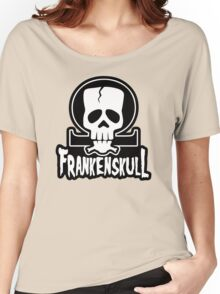 FrankenSkull New Ohm Logo Big Women's Relaxed Fit T-Shirt