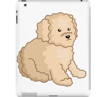 Toy Poodle Illustration iPad Case/Skin