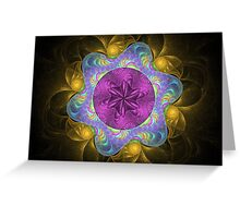 Edged in Gold Greeting Card