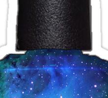 Blue Galaxy Nail Polish Sticker