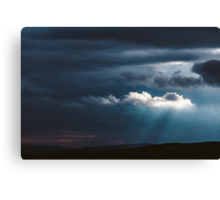 Storm is coming Canvas Print