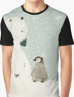 penguin and bear  Graphic T-Shirt