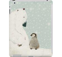 penguin and bear  iPad Case/Skin