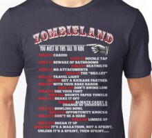 This tall to ride Zombieland - White Unisex T-Shirt