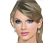 Taylor Swift - LowPoly Portrait by SKELEPUG