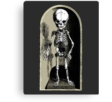 Skeleton child Canvas Print