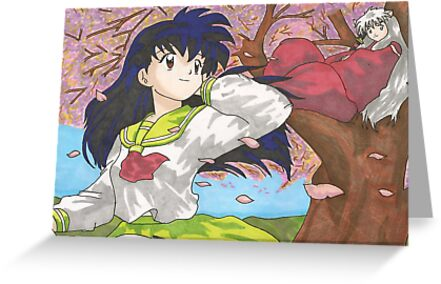 Inuyasha and Kagome 2 by RamsesXll