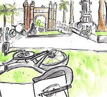 Arc de Triomf - Barcelona - www.cycleyourheartout.com by Sarah Maria B
