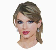 Taylor Swift - LowPoly Portrait Kids Clothes