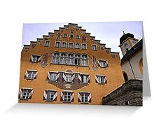 Kufstein old town hall  Greeting Card