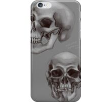 Skull things iPhone Case/Skin