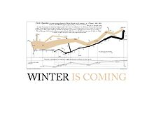 Tablet case: Charles Joseph Minard: Winter is coming by Alberto Cairo