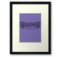Boris - Heavy Rocks Framed Print