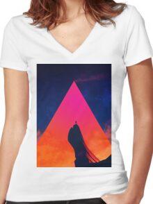 Gilgamesh Women's Fitted V-Neck T-Shirt