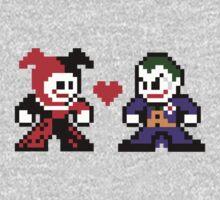 8-bit Harley Loves Joker Kids Clothes