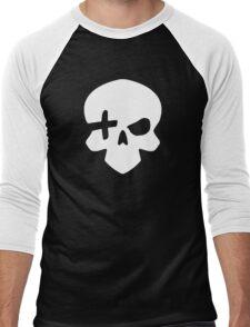 High Noon (White) Men's Baseball ¾ T-Shirt