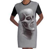 Shallow Mood Graphic T-Shirt Dress