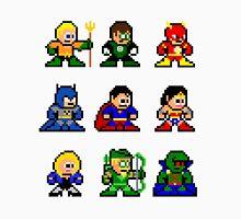 8-bit Justice League 9 Unisex T-Shirt
