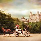 Central park Carriage by Jessica Jenney