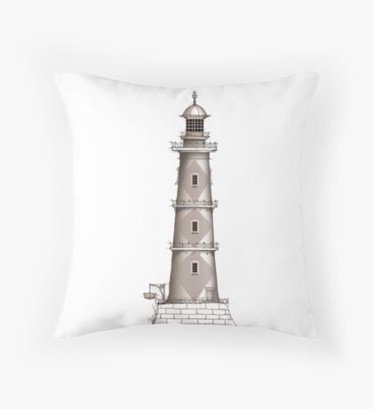 lighthouse 19, tony fernandes Throw Pillow