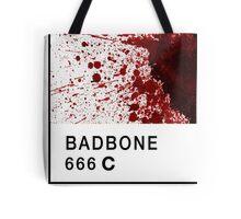Bad Bone (Pantone) Blood 666 Tote Bag