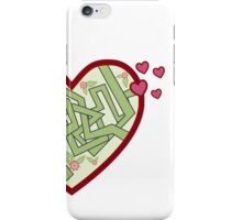 Love maze iPhone Case/Skin