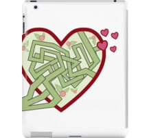 Love maze iPad Case/Skin