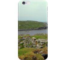 Abandoned ruined Blackhouses iPhone Case/Skin