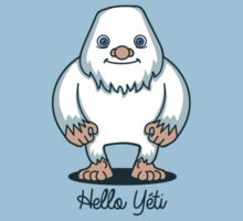 T-shirt hello yeti by KokoBlacksquare