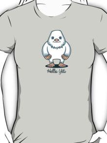 T-shirt hello yeti T-Shirt
