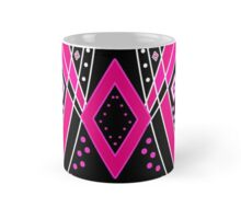 Abstract pattern with ornamental elements, modern print background Mug