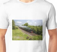 A3 Class 60103 Flying Scotsman Steam Locomotive Unisex T-Shirt