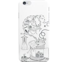 Sewing studio - Magical home iPhone Case/Skin