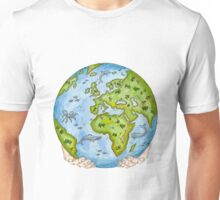 Our Earth in Your Hands Unisex T-Shirt