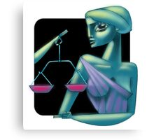 Libra sign Canvas Print