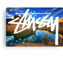 Stussy Desert Canvas Print