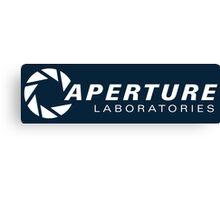 aperture laboratories logo  Canvas Print