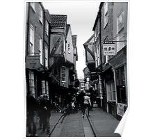 The Shambles, York Poster