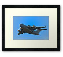 Boeing C-17A Globemaster III Framed Print