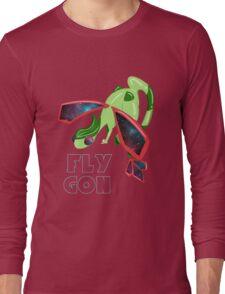 Galaxy Flygon Design Long Sleeve T-Shirt