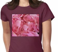 A Bed of Pink Womens Fitted T-Shirt