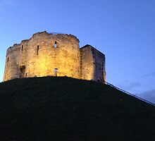 Clifford's Tower, York by Robert Steadman