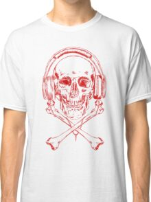 Music Pirate: Red Version Classic T-Shirt
