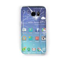 Broken s6 phone screen Samsung Galaxy Case/Skin